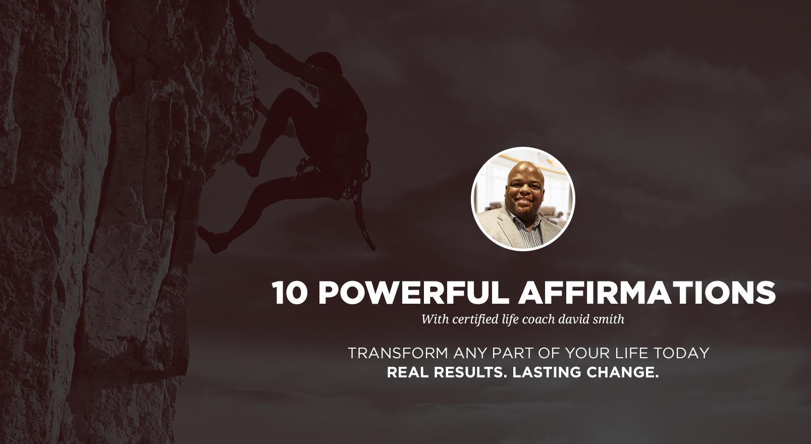 Affirmations – I Speak Life Coaching